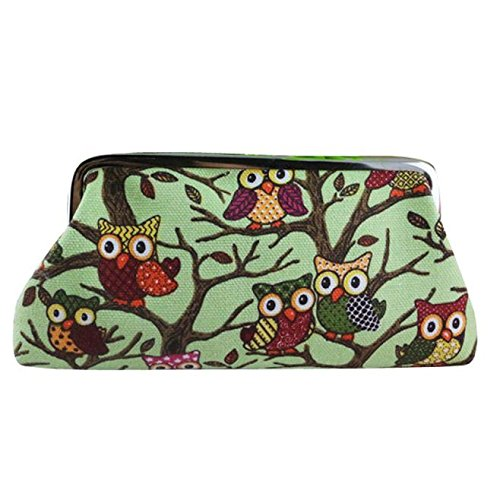 New Fashion Women Owl Purse ONEMORES(TM) Lovely Style Lady Wallet Hasp Owl Purse Clutch Bag